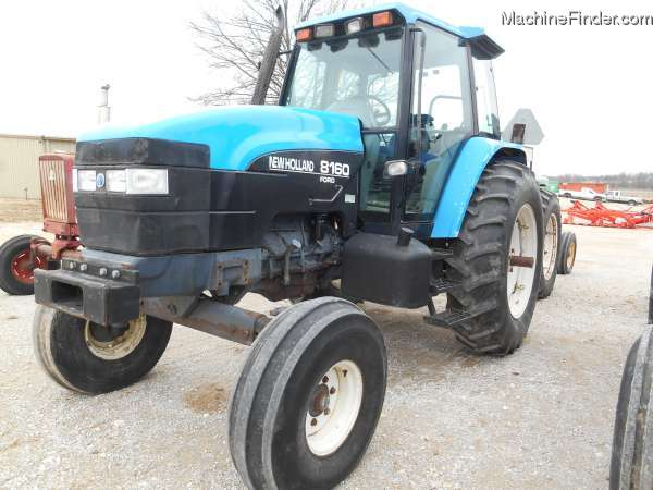 1996 New Holland Tractor : New holland tractors compact hp john