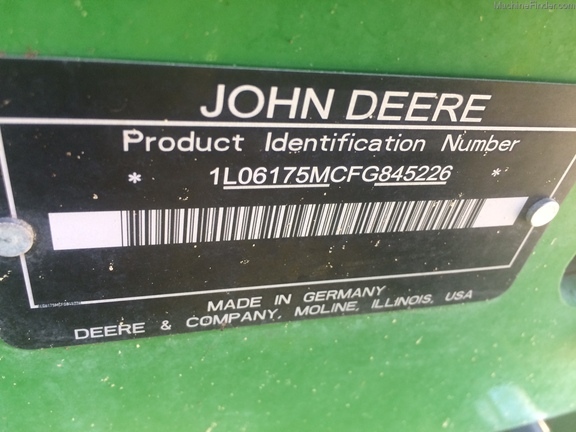 2016 John Deere 6175M