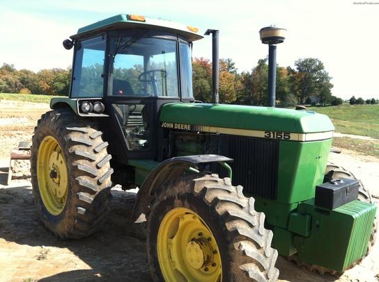 1990 John Deere 3155 Tractors - Row Crop (+100hp)