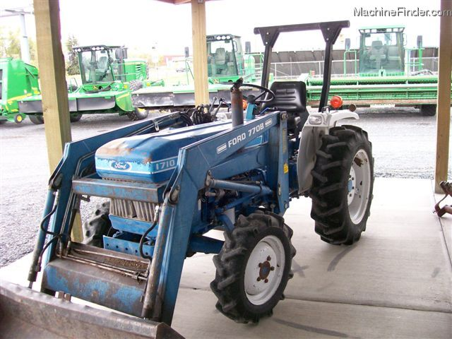 1986 Ford 1710 Tractors - Compact  1-40hp