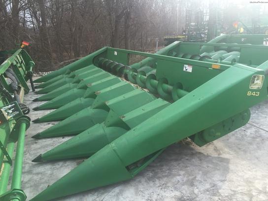 1989 John Deere 843 Combine Corn Amp Row Crop Headers John