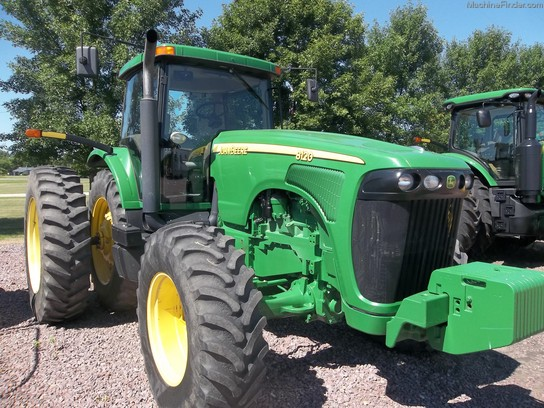 Large on john deere 8120 specs