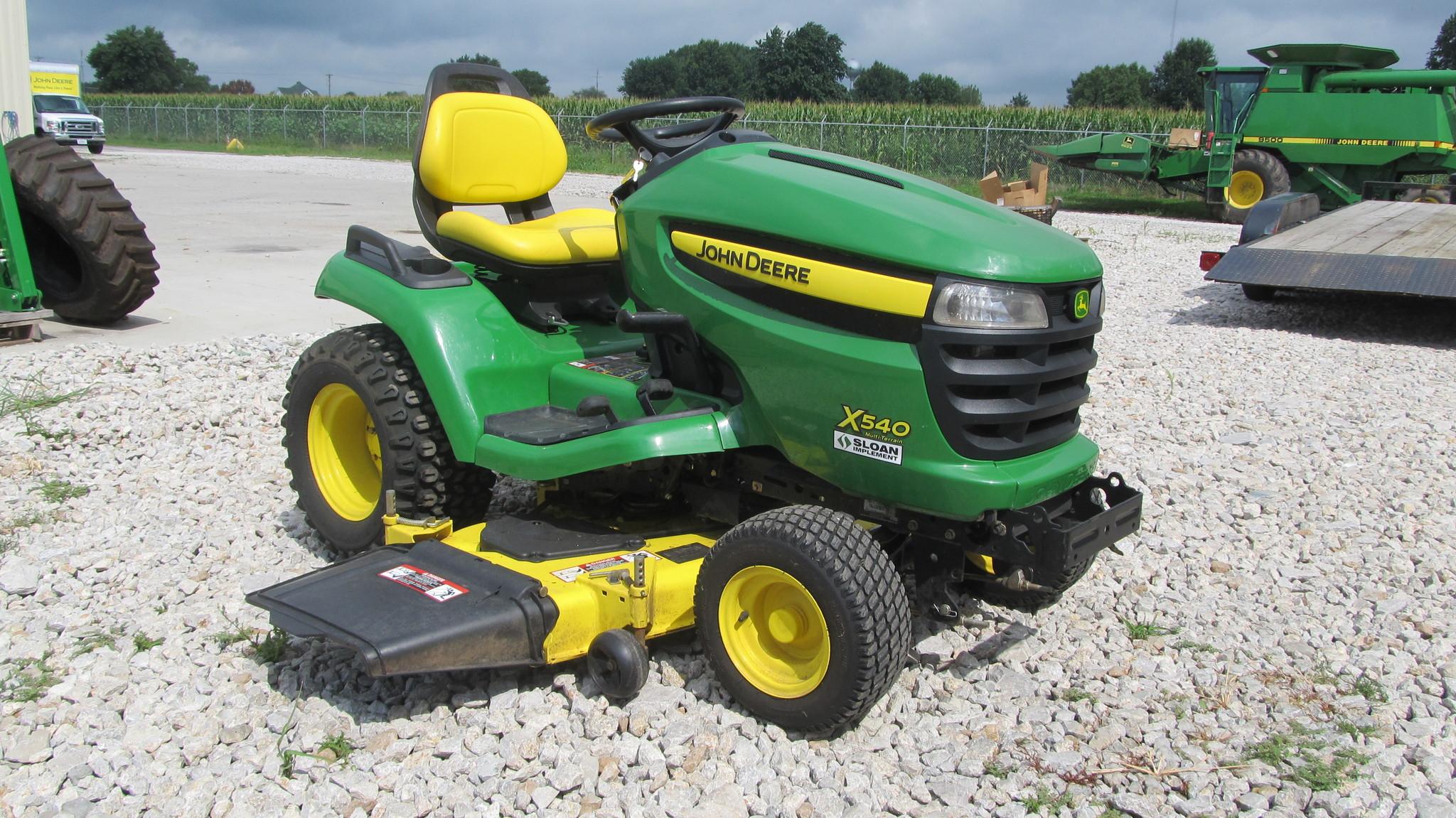 John Deere X540 Lawn Garden Tractors For Sale 49371