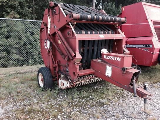 1989 Hesston 5510 - Round Balers - John Deere MachineFinder