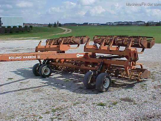 Rolling Basket Harrow : Unverferth rolling harrow tillage john deere machinefinder
