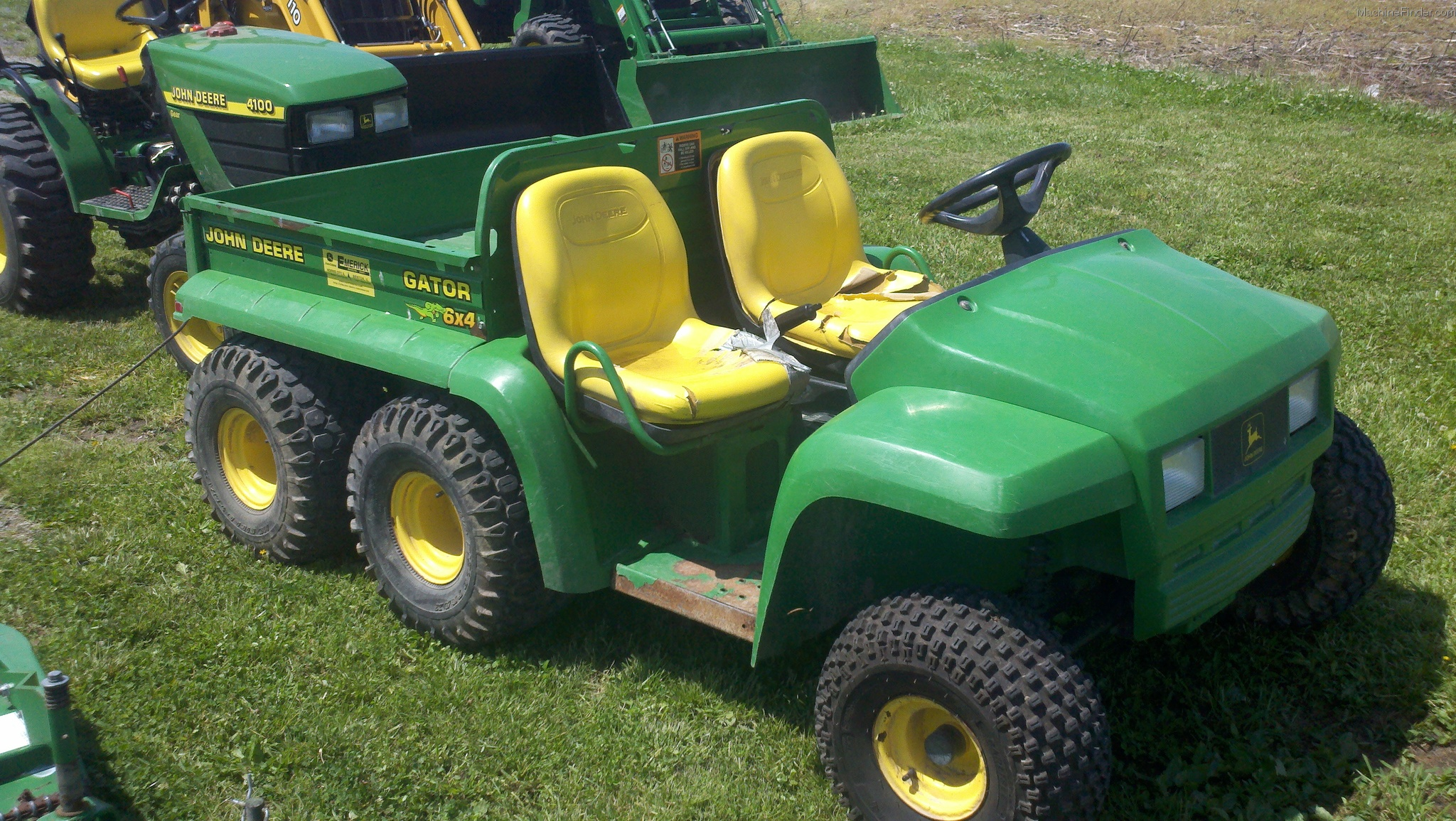 2004 john deere 6x4 gator atv 39 s and gators john deere. Black Bedroom Furniture Sets. Home Design Ideas