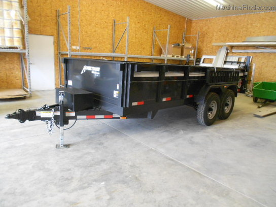 2012 Homesteader HOMERSTEADER 716JX 16ft DUMP TRAILER