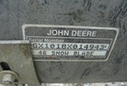 "John Deere 46"" Front Blade for Sabre Mower"