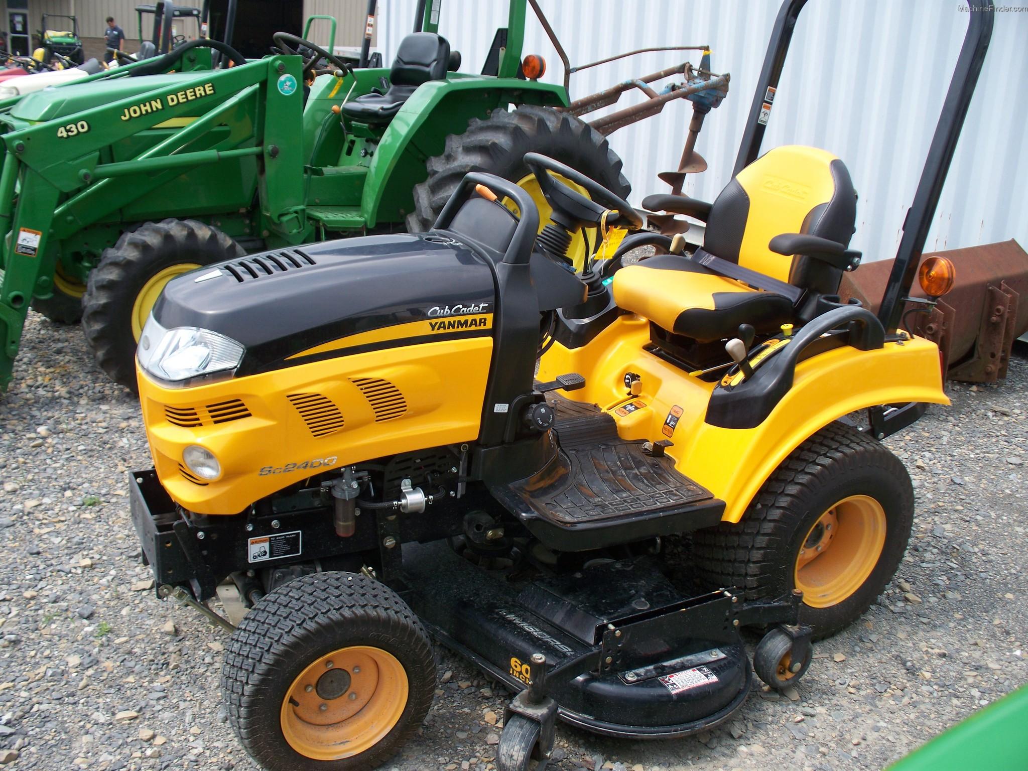 Cub Cadet Compact Tractors : Cub cadet sc tractors compact hp john deere