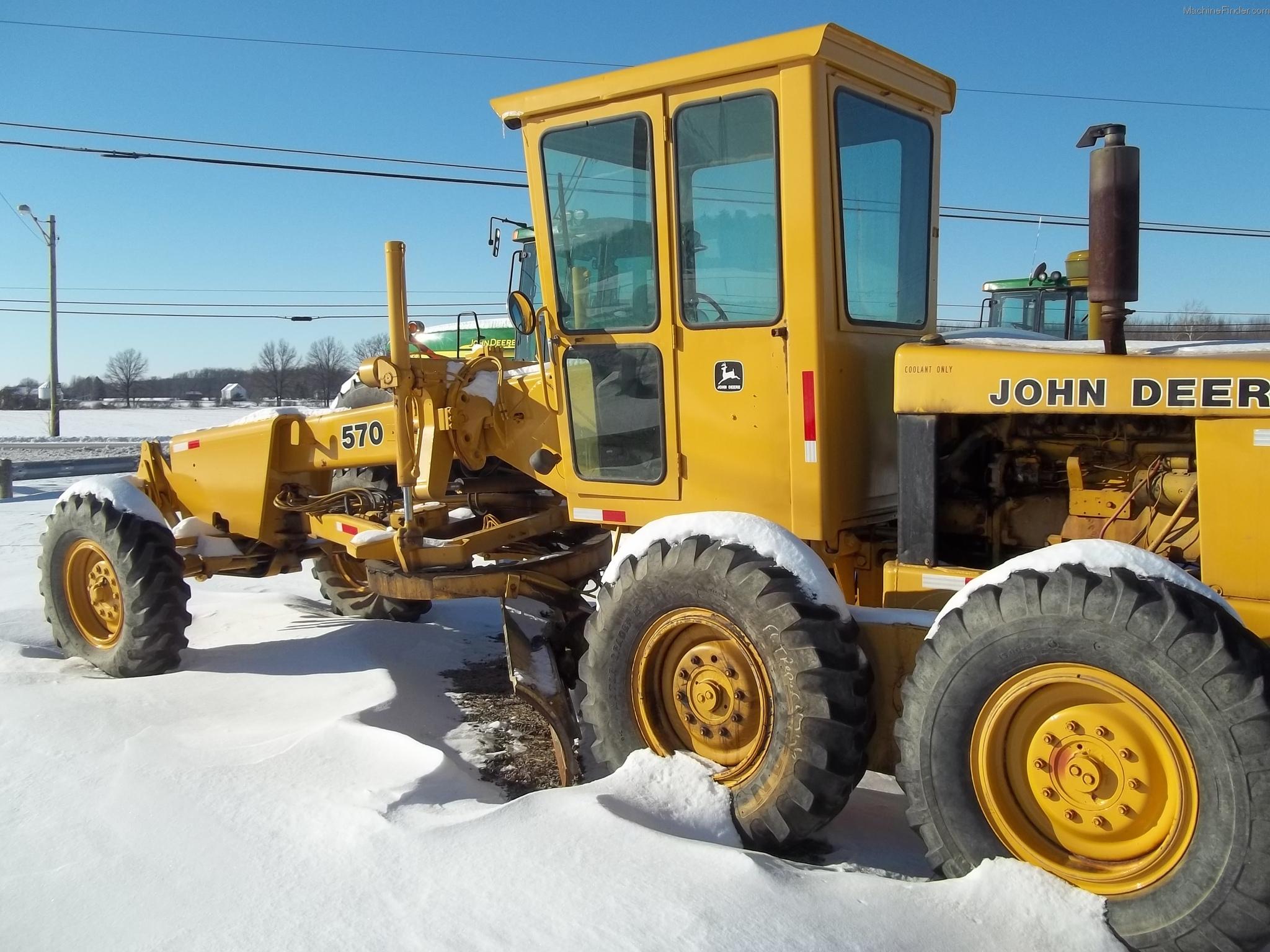 John deere 570 motor grader john deere machinefinder for John deere motor grader parts