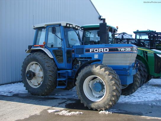 Ford Row Crop Tractors : Ford tw tractors row crop hp john deere