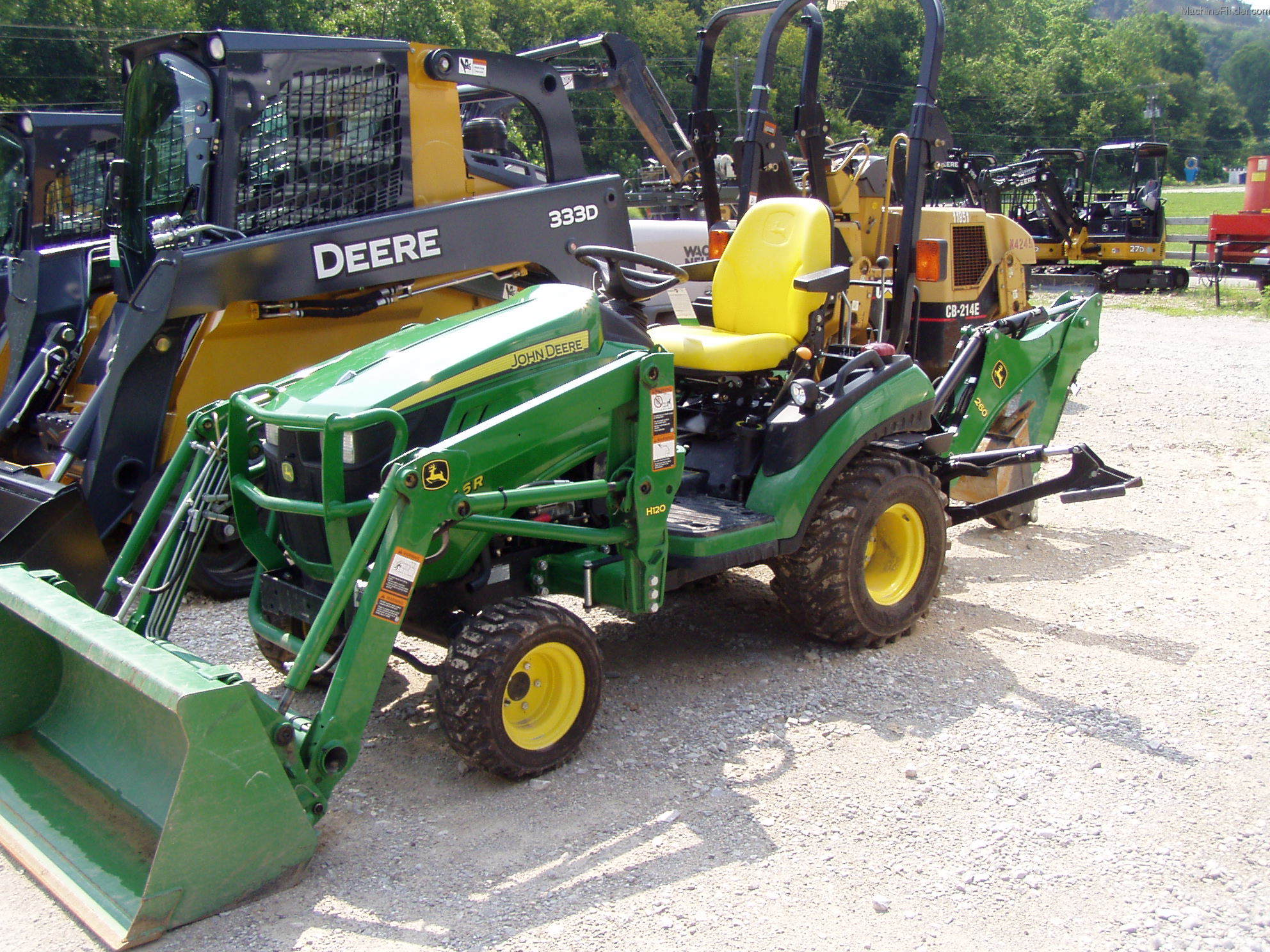 John Deere 1026r Attachments : Tweet
