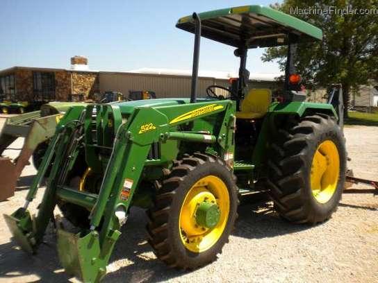 John Deere 5403 Tractor 4x4 : John deere tractors utility hp