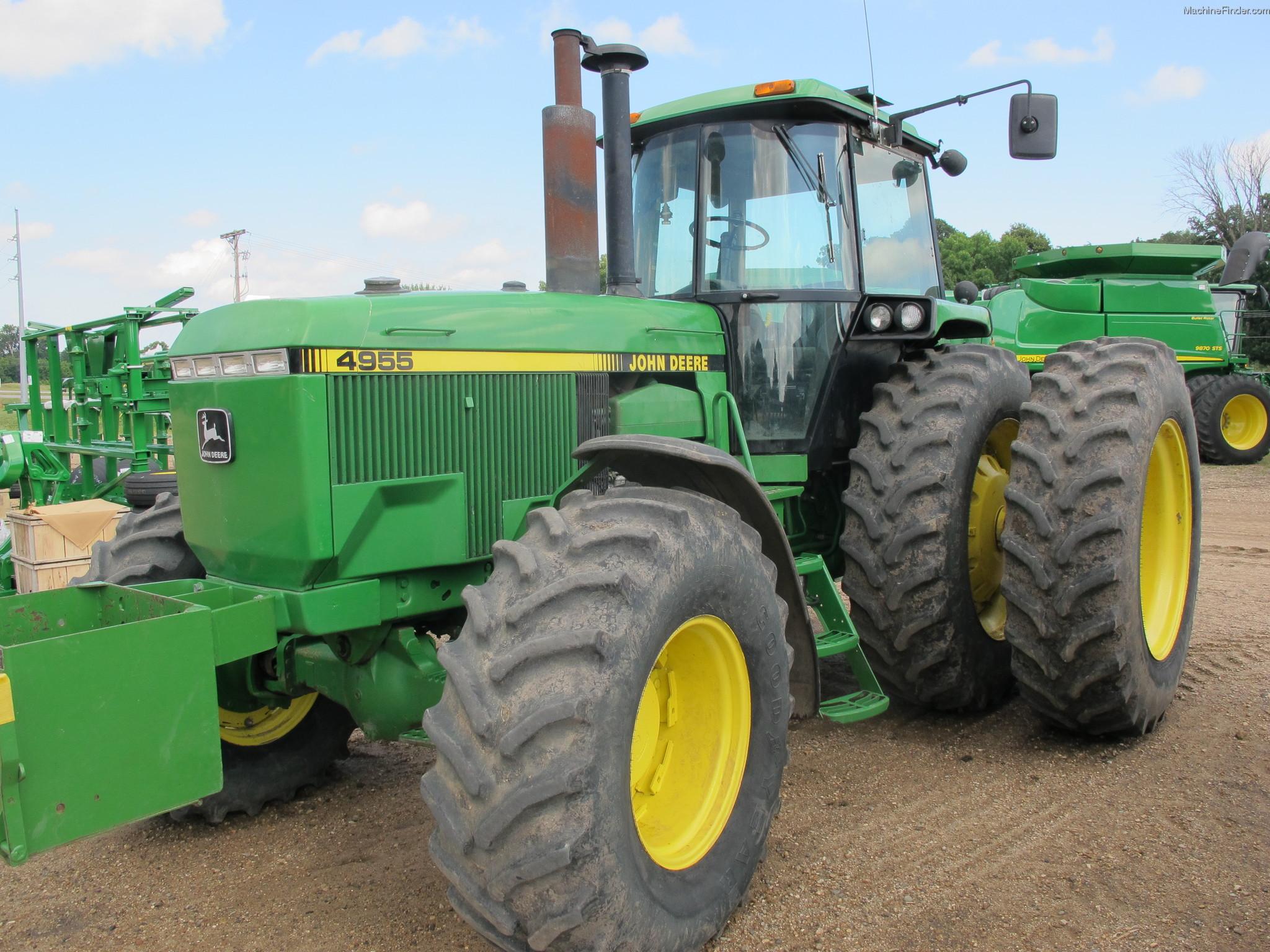 1991 John Deere 4955 Tractors - Row Crop (+100hp)