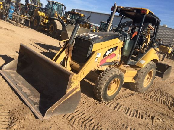 Detail photo of 2007 Caterpillar 414E from Construction Equipment Guide