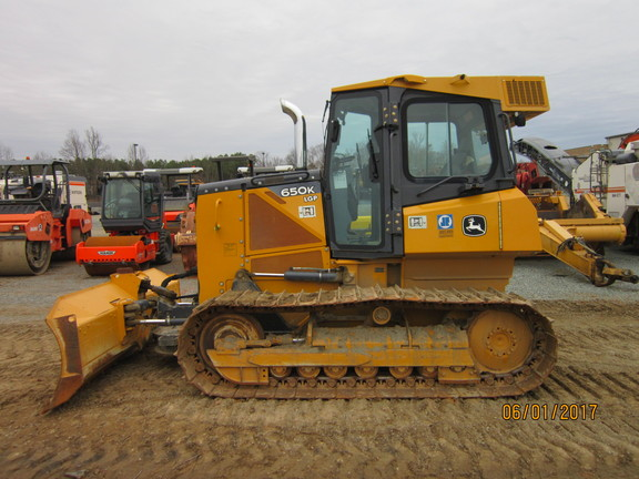 Detail photo of 2014 John Deere 650K from Construction Equipment Guide
