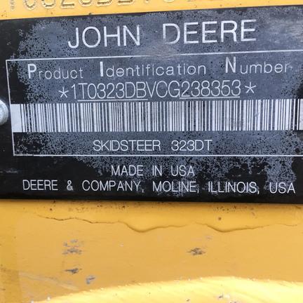 Detail photo of 2013 John Deere 323D from Construction Equipment Guide