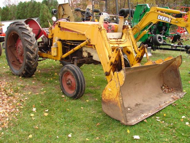 Massey Ferguson 65 Tractor With Loader : Massey ferguson tractors utility hp