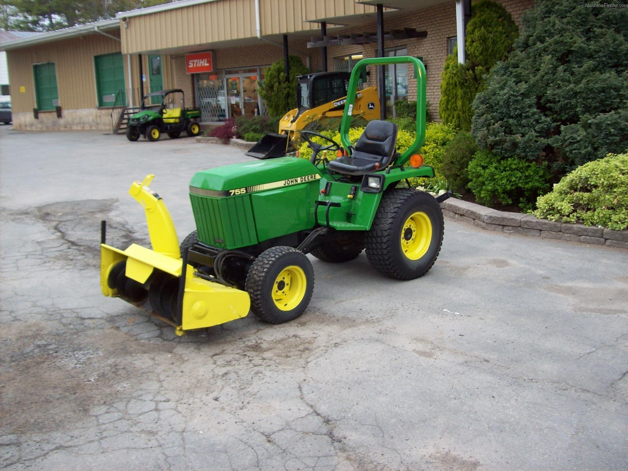 1989 john deere 755 tractors compact 1 40hp john. Black Bedroom Furniture Sets. Home Design Ideas
