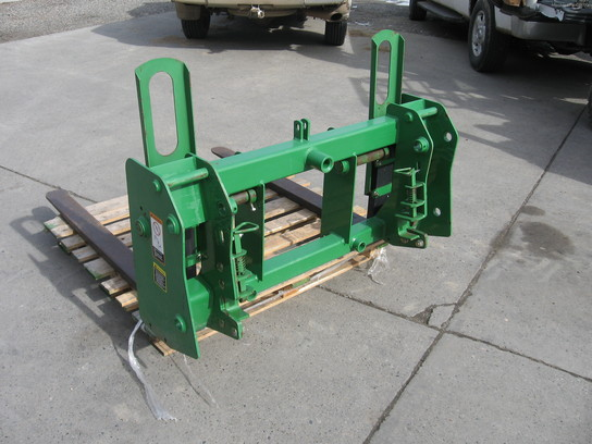 "2003 John Deere 48"" Pallet Forks for 746 Loader"