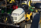 "1999 Cub Cadet HDS3205 Shaft-drive L&G tractor with power steering, liquid-cooled engine, 54"" mower and snowblower"