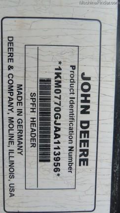 2010 John Deere 770