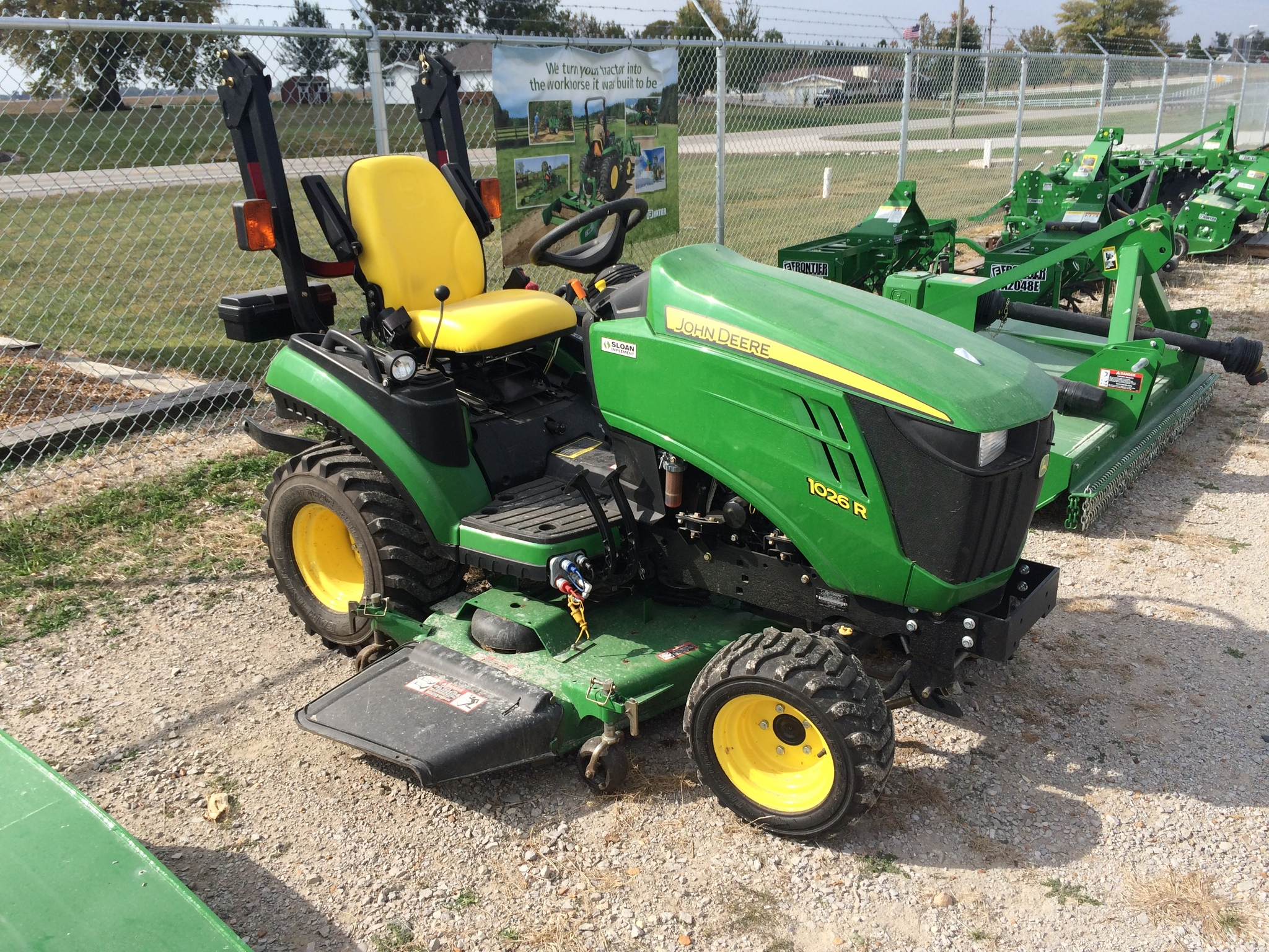 John Deere 1026r Attachments : John deere r compact utility tractors for sale