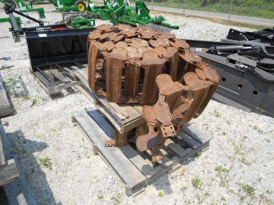 "2000 Other 10"" STEEL TRACKS FOR A BOB CAT 773 AVAIL FOR RENT"