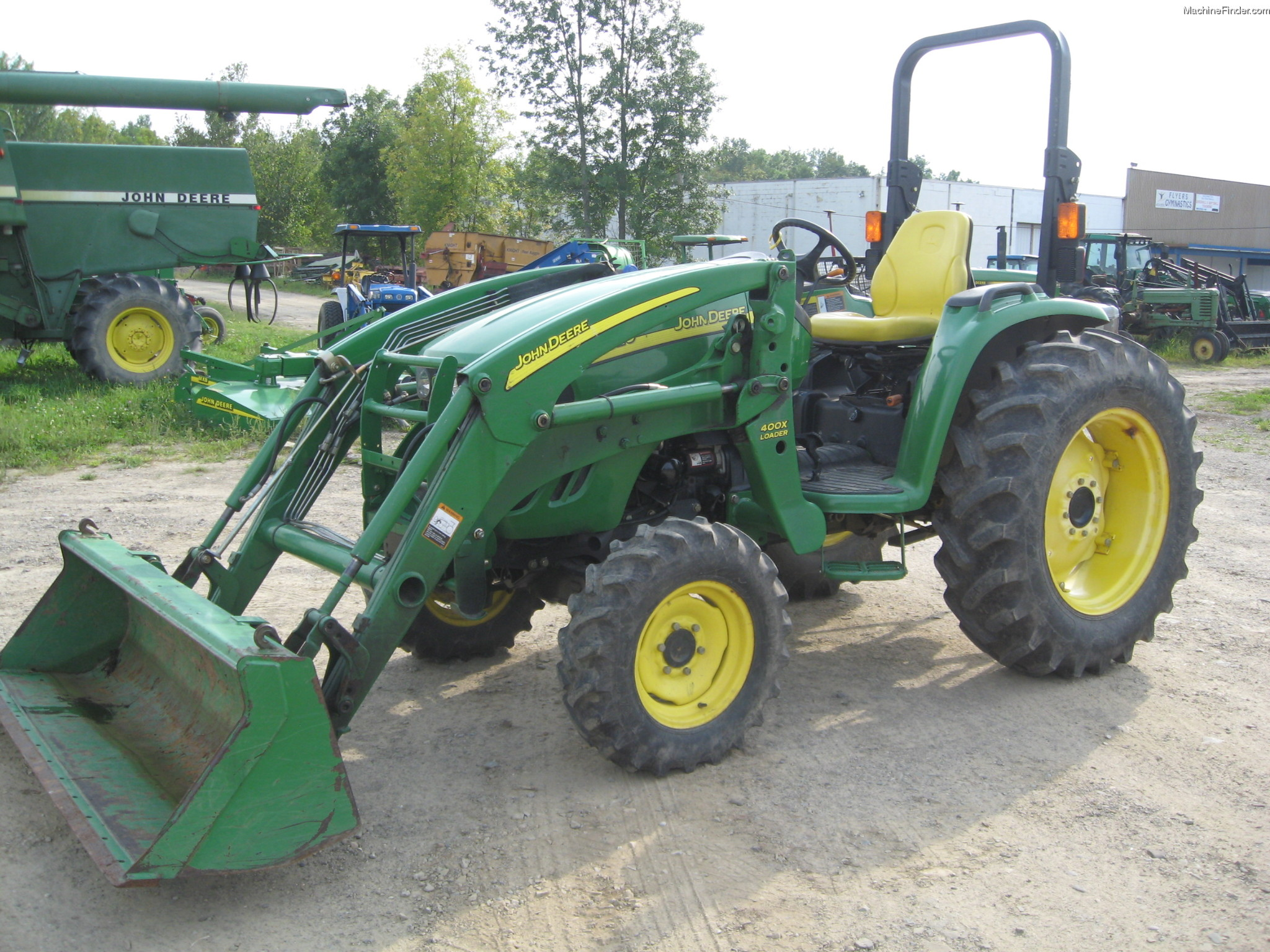 John Deere Tractor Backhoe Parts : John deere tractors utility hp