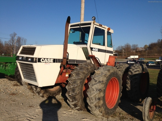 Case 4490 Tractor : Case tractors articulated wd john deere
