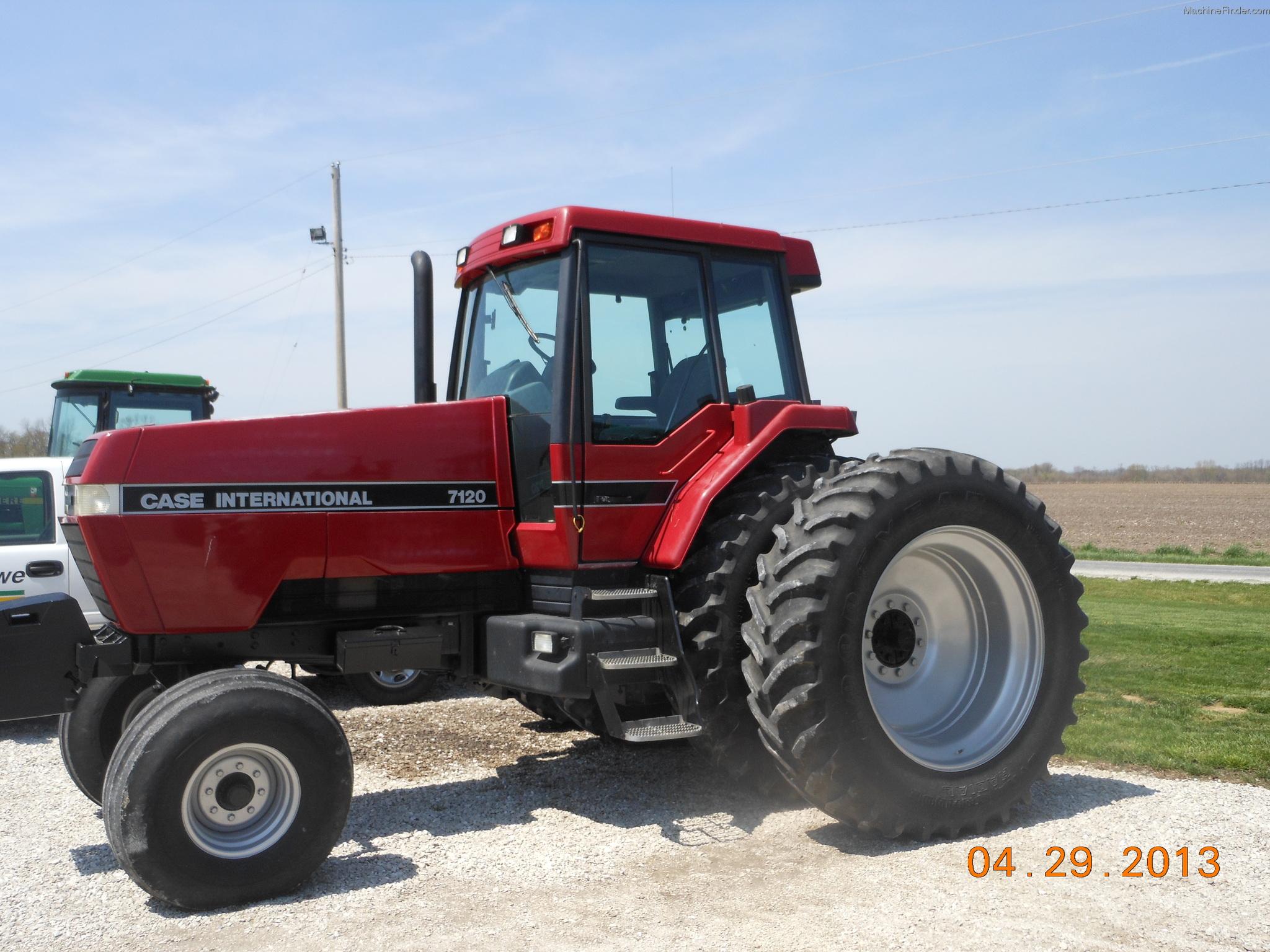 Case Ih 7120 : Case ih tractors row crop hp john