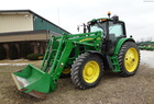 2012 John Deere 7130 Prem with 741SL