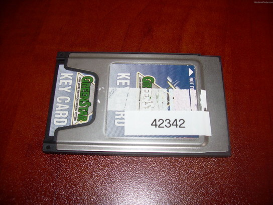 John Deere SF2 KEY CARD