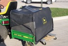 "1999 John Deere MC519 Collection Cart with 60"" PowerFlow Blower, for JD425-445-455 L&G tractors"