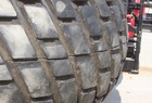2003 Titan Pair 18.4 x 26 R-3 turf-tread tires on 8X8 wheels