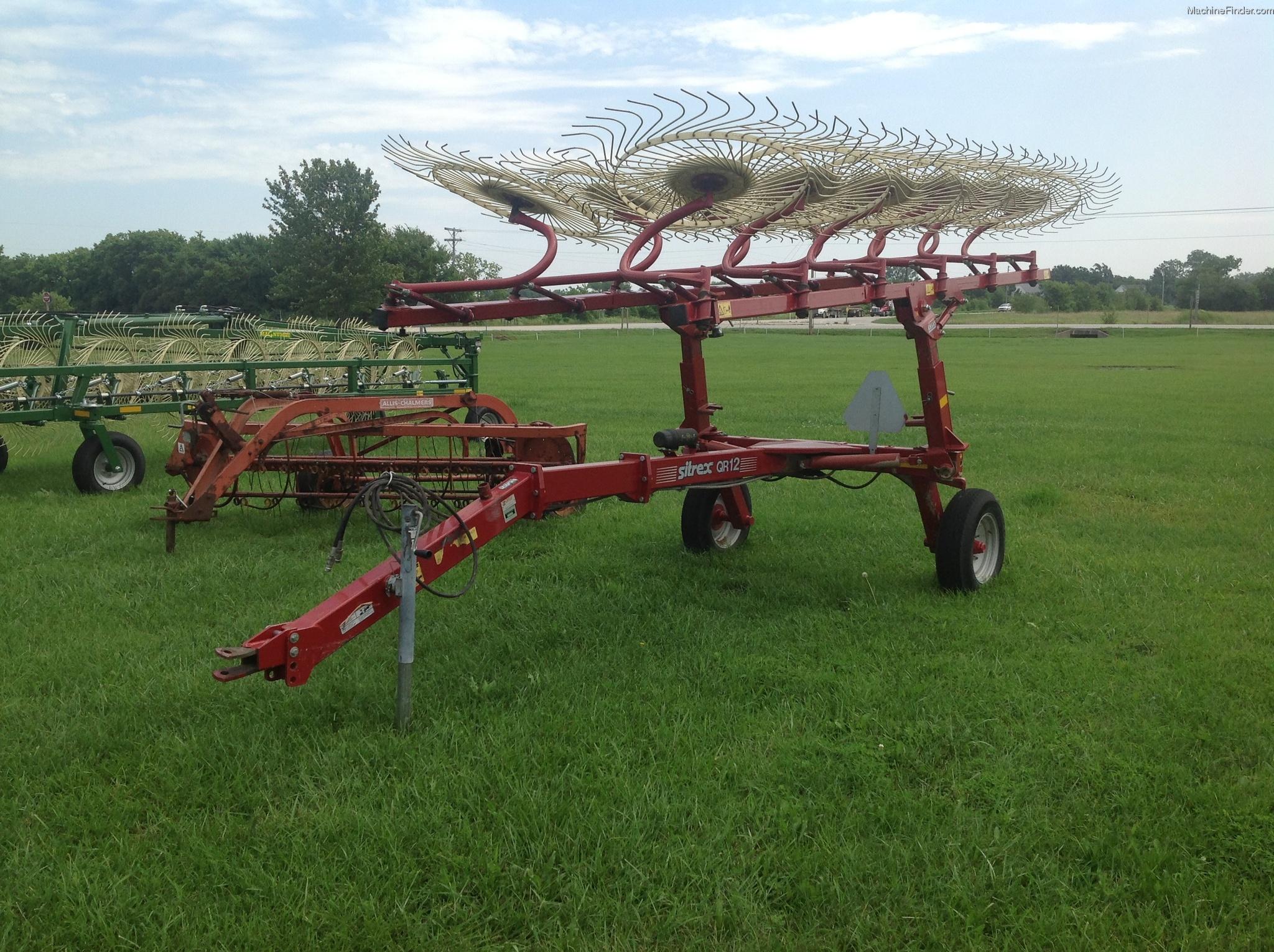 Sitrex Rake Parts : Sitrex qr hay equipment handling and transport john