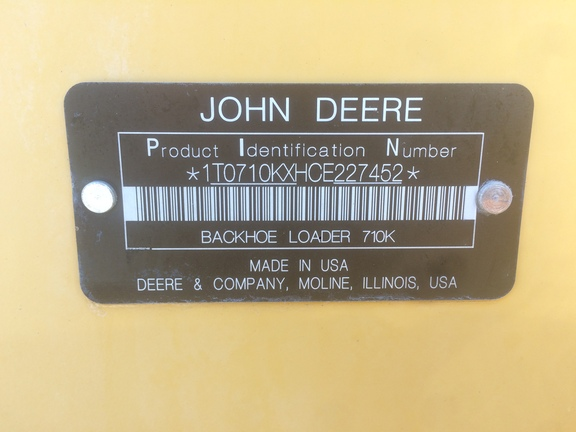 Detail photo of 2012 John Deere 710K from Construction Equipment Guide