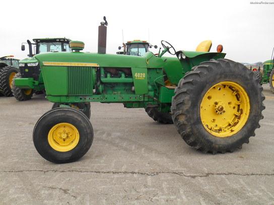 1968 John Deere 4020 Tractors - Row Crop   100hp