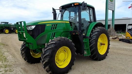 2013 John Deere 6150m Tractors Row Crop 100hp John