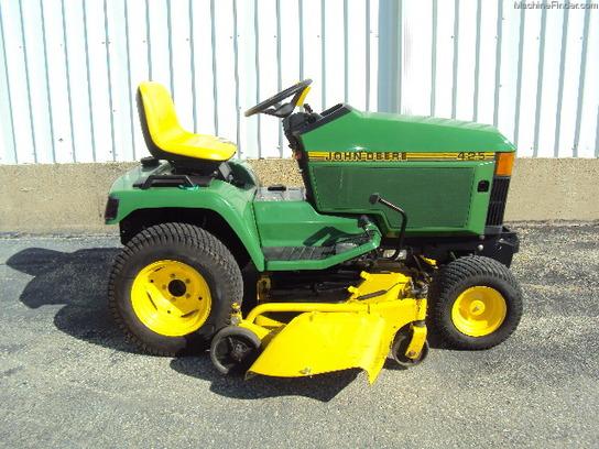 John Deere 425 Tractor Parts : John deere lawn garden tractors