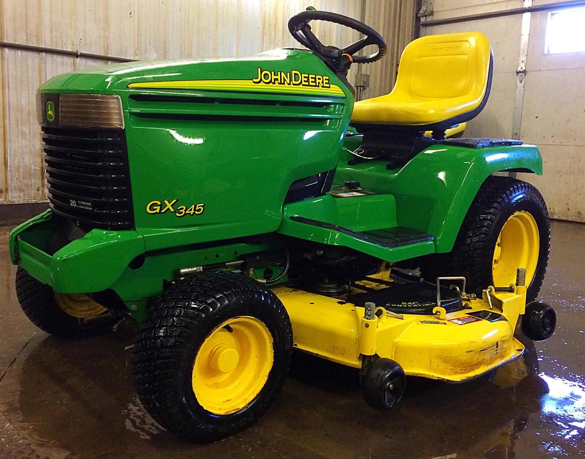 John Deere GX345 Lawn & Garden Tractors for Sale | [53132]