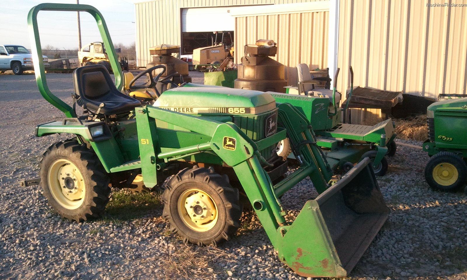 1986 John Deere 655 Tractors - Compact (1-40hp.) -