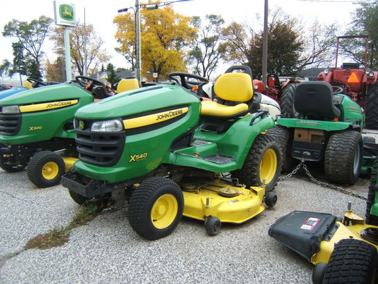 "John Deere X540 W/54"" MOWER (NO INTEREST NO PAYMENTS UNTIL MAY 2014 OAC)"