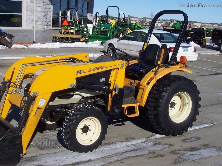 2006 Cub Cadet 7532 4WD Hydro with 833 Loader Tractors - Compact (1-40hp.) - John Deere ...