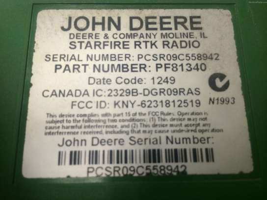 John Deere RTKSYSTM