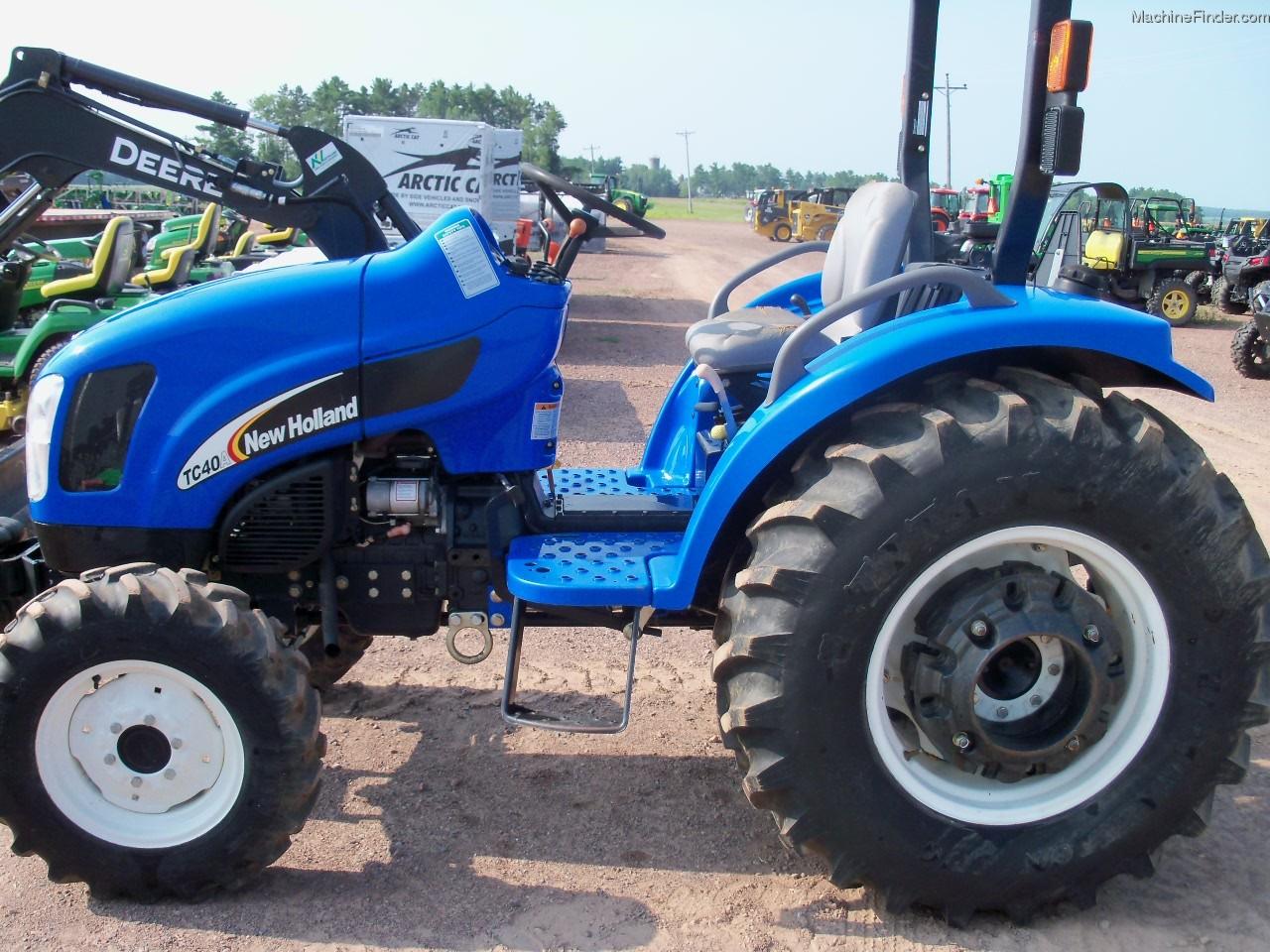New Holland Compact Tractors Parts : New holland tc a tractors compact hp john