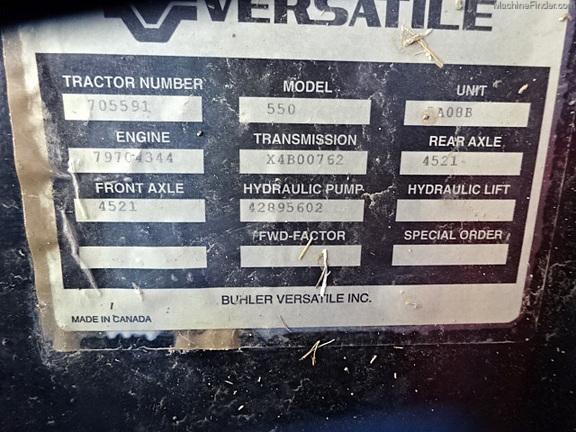 Versatile 550