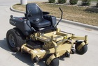 "2005 Landpride Accu-Z zero-turn mower, with 23hp kawasaki engine, and 60"" deck."