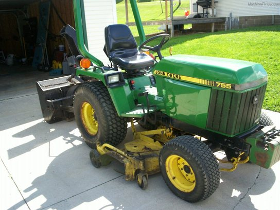 1993 john deere 755 tractors compact 1 40hp john. Black Bedroom Furniture Sets. Home Design Ideas