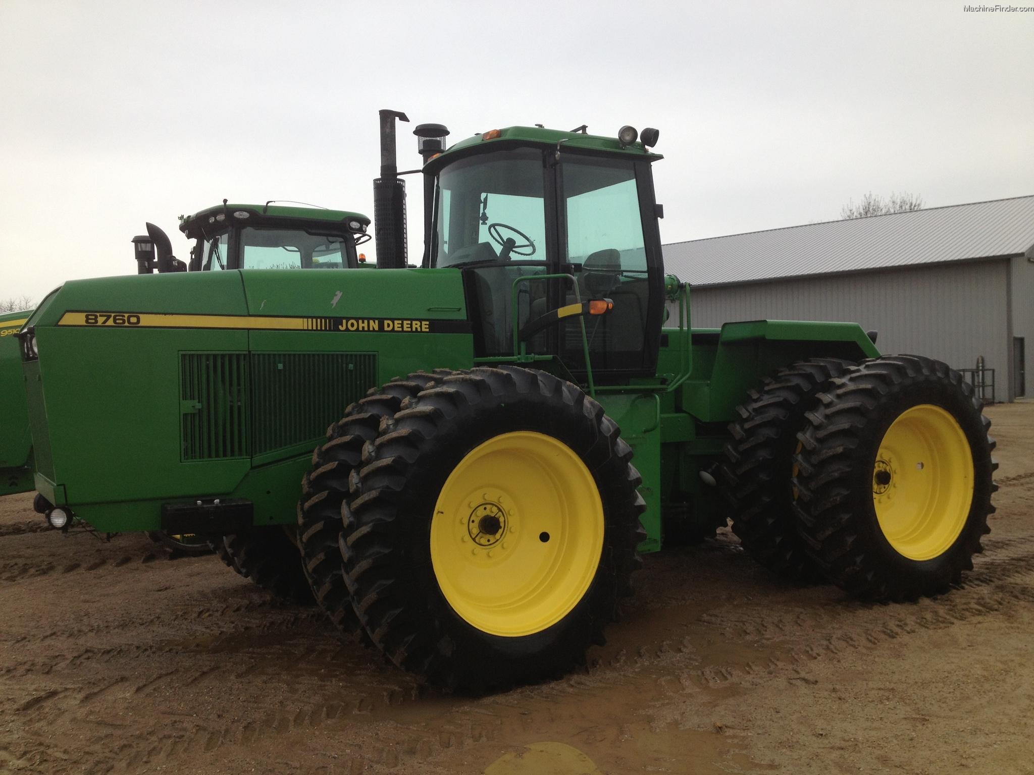 Tractor Lights 1990 : John deere tractors articulated wd